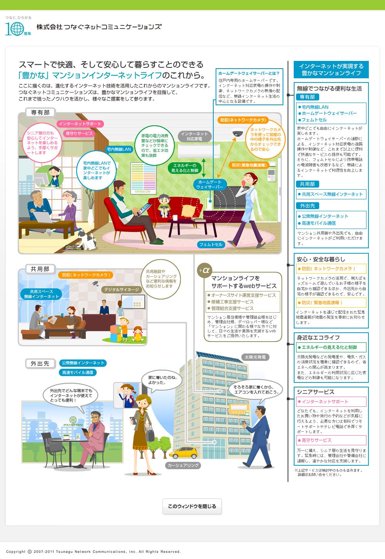 つなぐネットコミュニケーションズ10周年