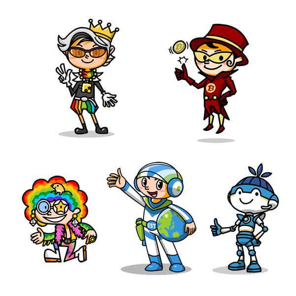 キャラクターデザイン01