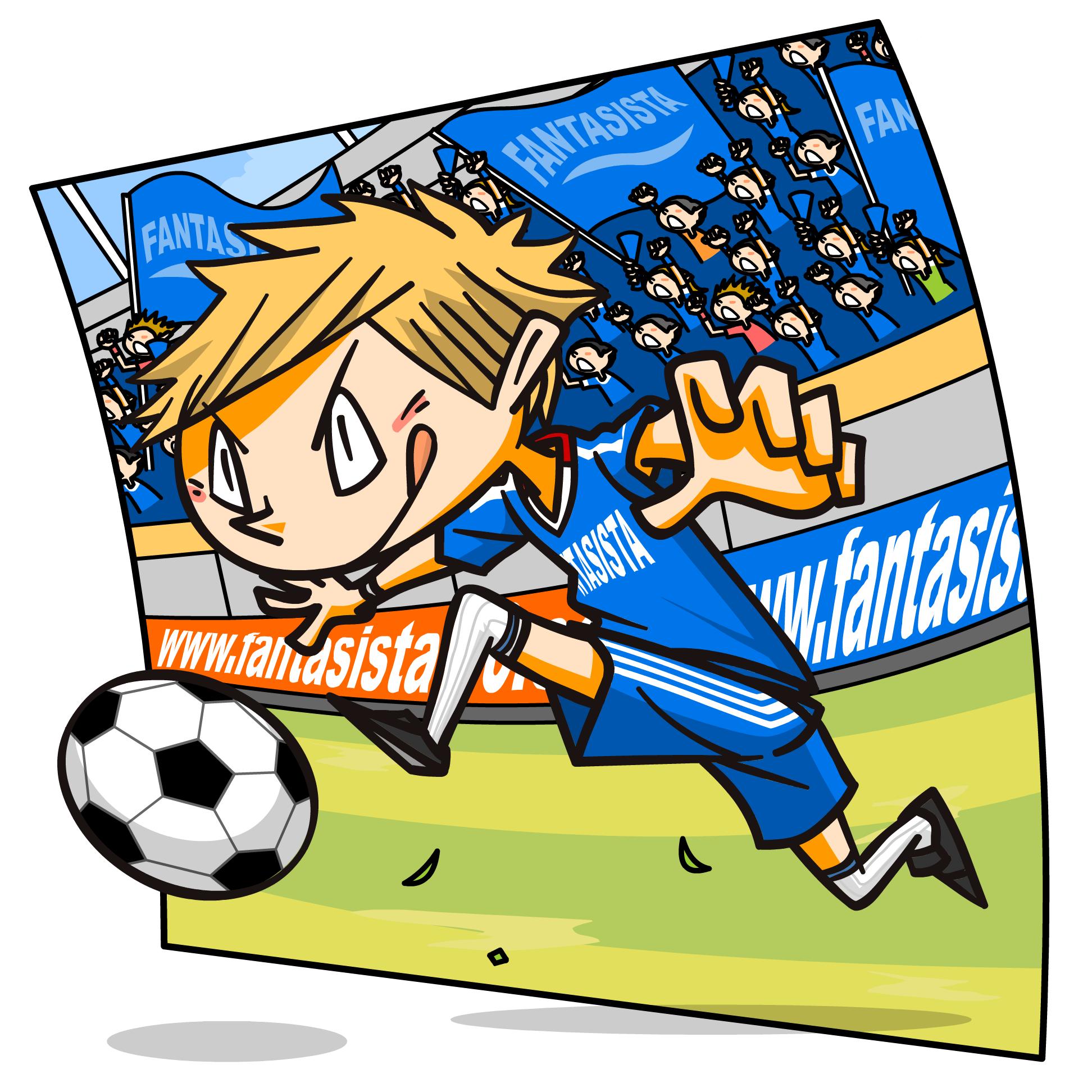 サッカーテーマWEBキャラ